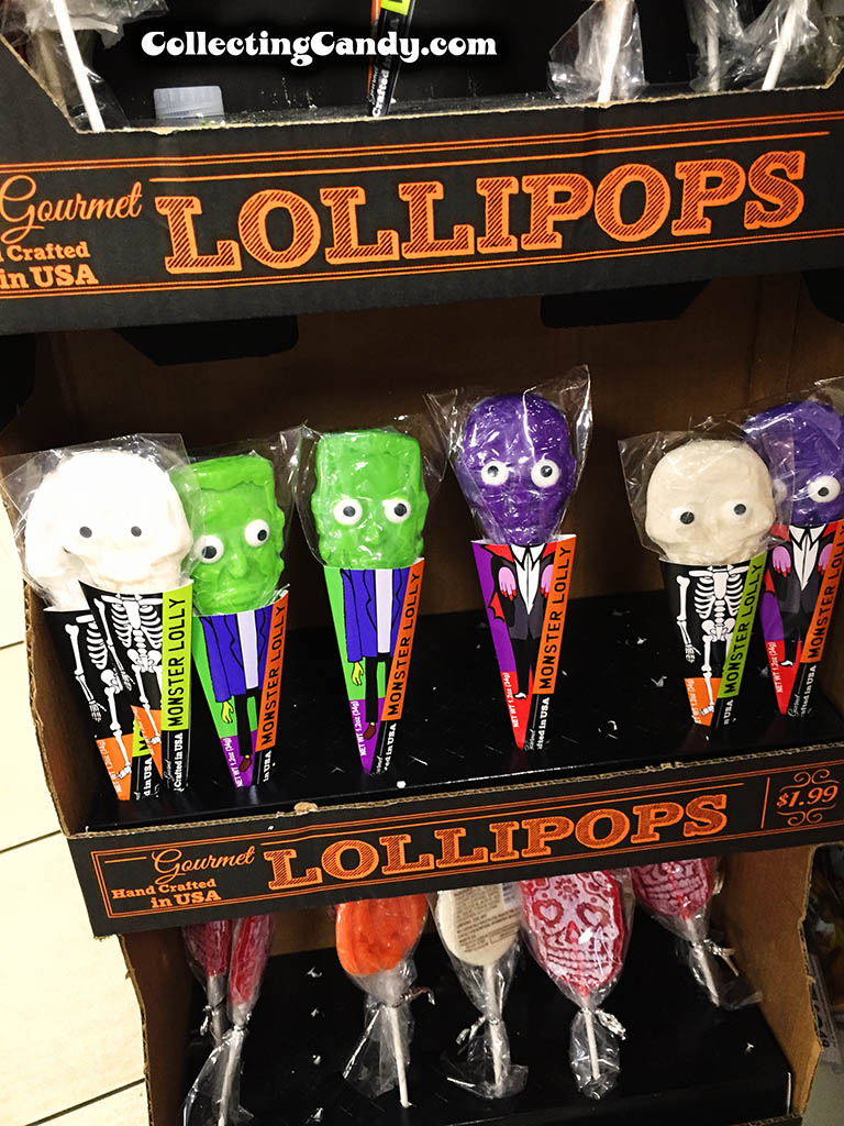 Halloween lollipops spotted at 7-Eleven - 2015