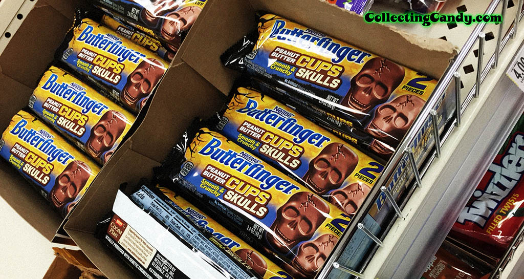 Nestle - Butterfinger Peanut Butter Cups Skulls photo - October 2016