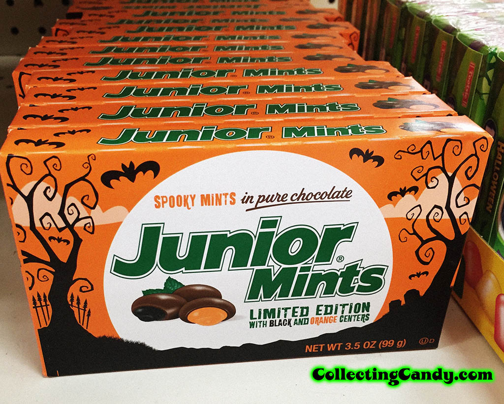 Tootsie Roll Industries - Junior Mints - Limited Spooky Edition - photo - October 2016