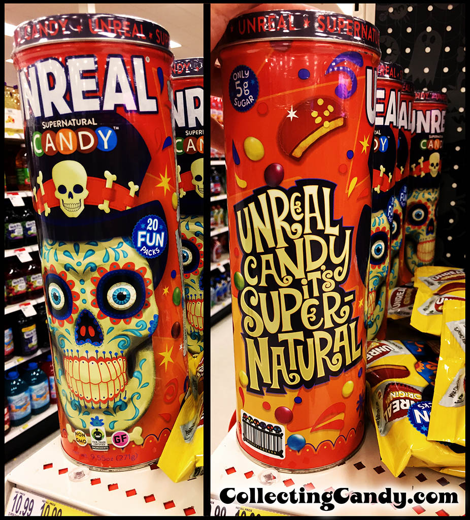 Unreal Candy - Supernatural Candy - 20 Fun Packs Target Exclusive tin - October 2016