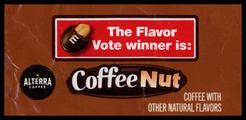 Mars - M&M's - Coffee Nut - Alterra Coffee