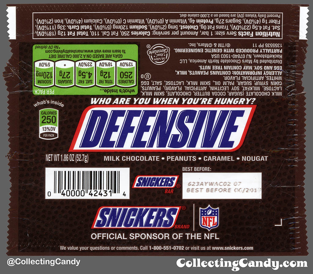 Super Bowl Sunday 2017 And Snickers' Football Phrase