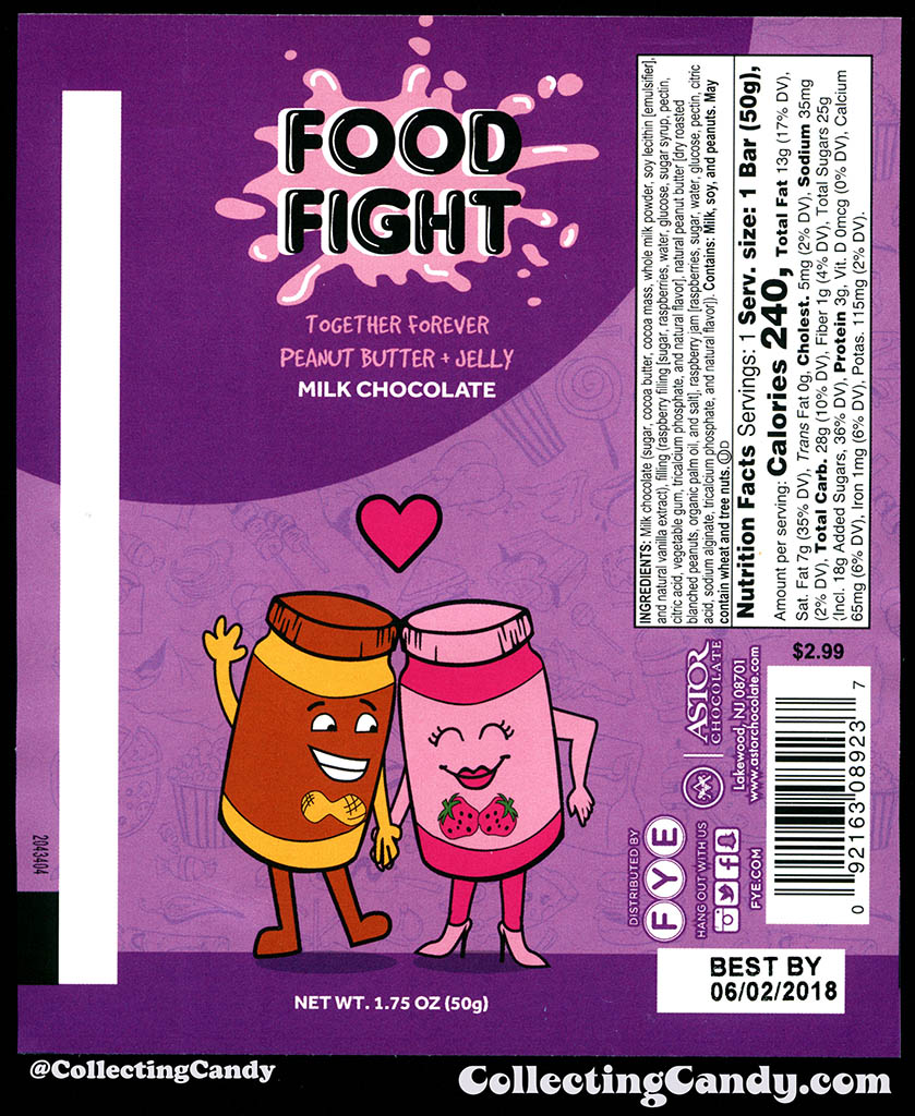 FYE and Astor Chocolate's Food Fight! – Featuring the first ...